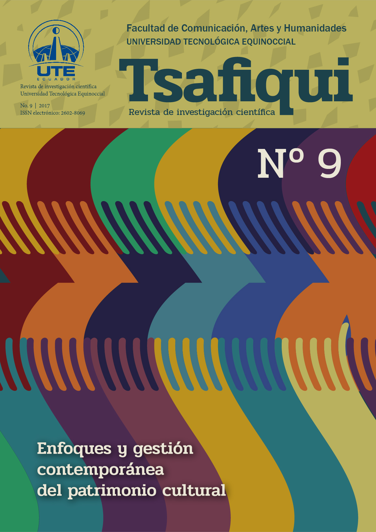 Cover Tsafiqui Number 9