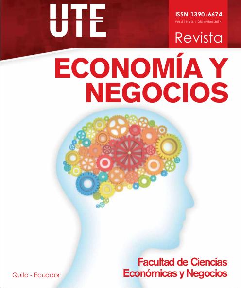 Portada Economía y Negocios volumen 5 número 2